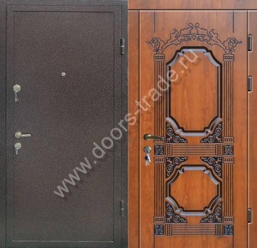 металлическая дверь тамбурная 120