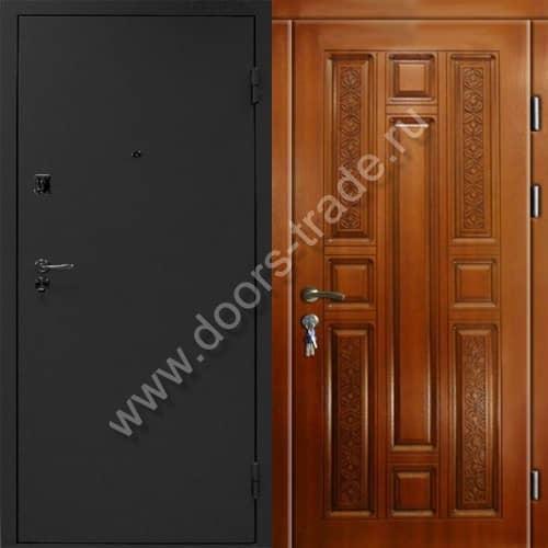 двери металлические наружные с напылени