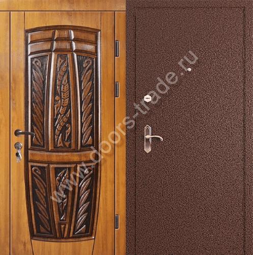 входной двер из массива