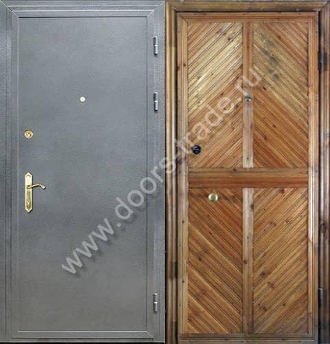 металлические двери на заказ для дачи