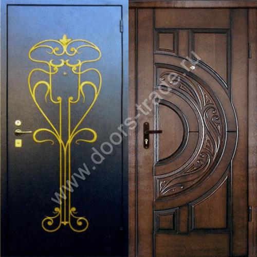 цена железные двери с металлическим напылением