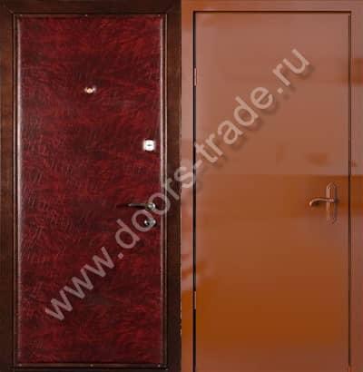 стандартные входные двери винилискожа в чехове