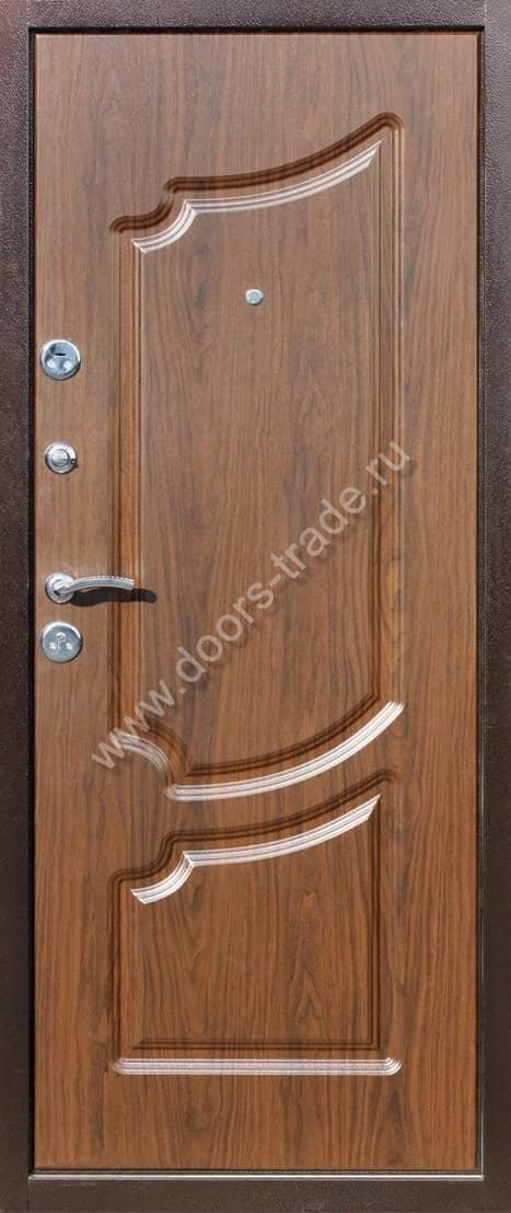 железные двери мдф недорого