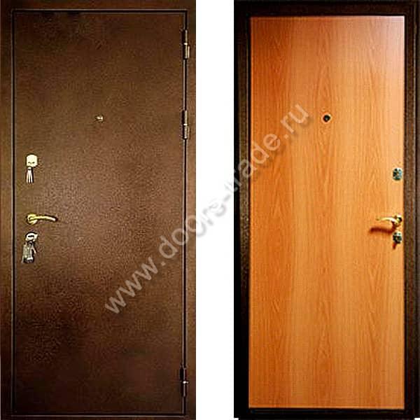 железные двери порошковое недорого