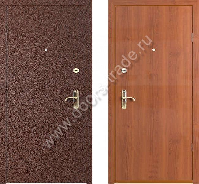 двери входные металлические с напылением с шумоизоляцией